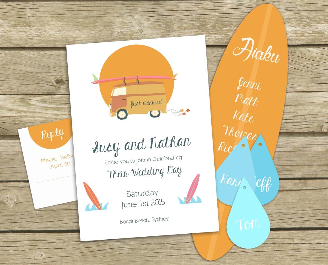 wedding-surf